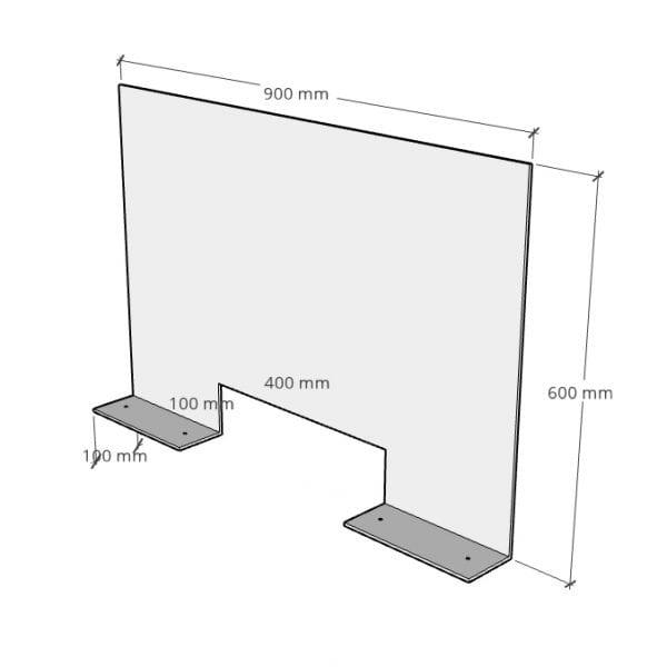 Reception Screens Rear